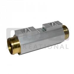 Echangeur d'inverseur court (moteurs jusqu'à 190ch), durite Ø52mm