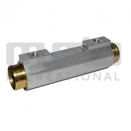 Echangeur d'inverseur moyen (moteurs jusqu'à 260ch), durite Ø52mm