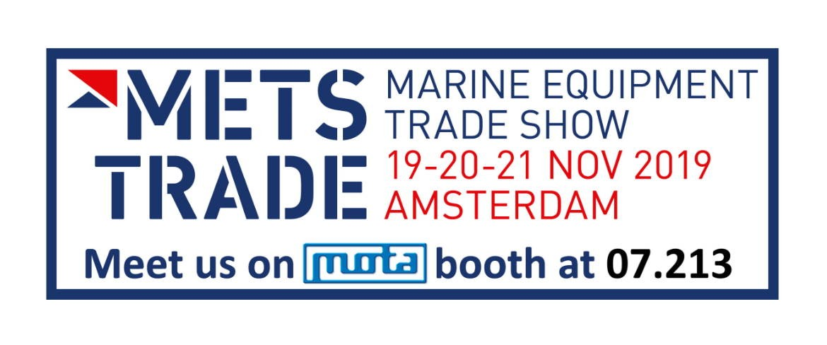 MOTA at METSTRADE 2019!